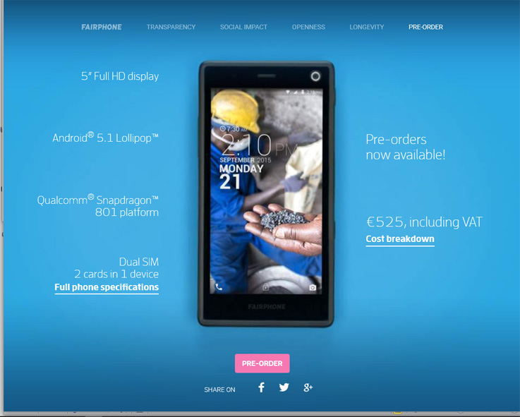 Nästa generation - Fairphone 2
